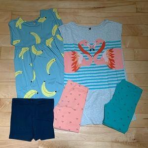 TEA Collection Girls Lot Dress Tunic Pants 8 10
